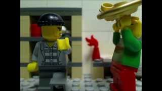 """Lego Christmas """"chestnuts, Figgy Pudding, And A Maniac"""""""