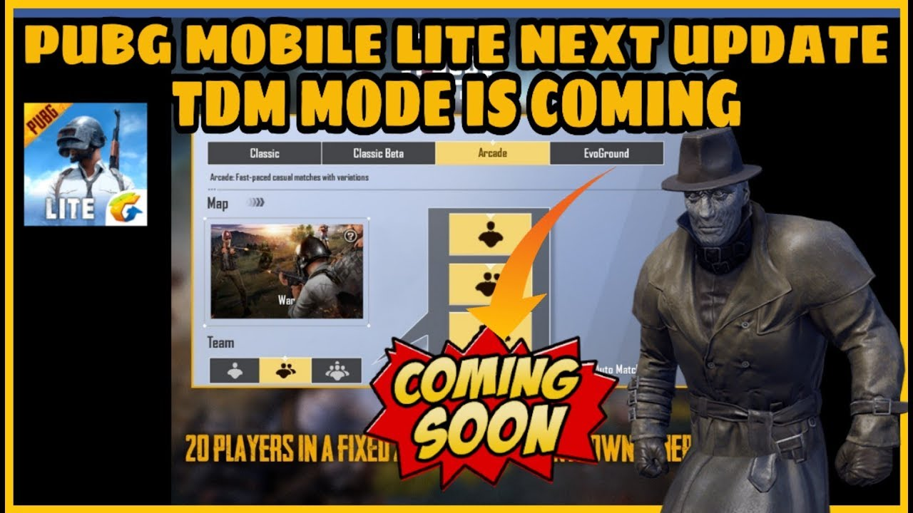 Pubg Mobile Lite Tdm Mode Is Coming  Soon In Next Update || Tdm Mode In Pubg Mobile Lite