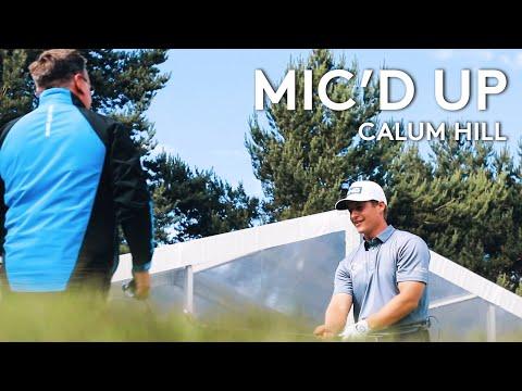 Mic'd Up | European Tour player Calum Hill and coach range session | 2021 abrdn Scottish Open