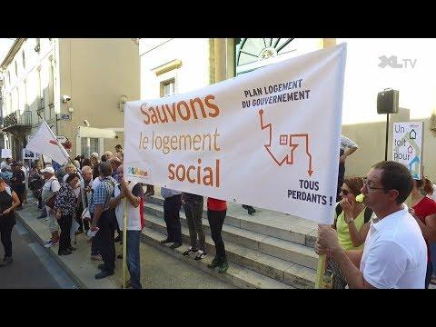 Mobilisation face aux attaques du gouvernement contre le logement social