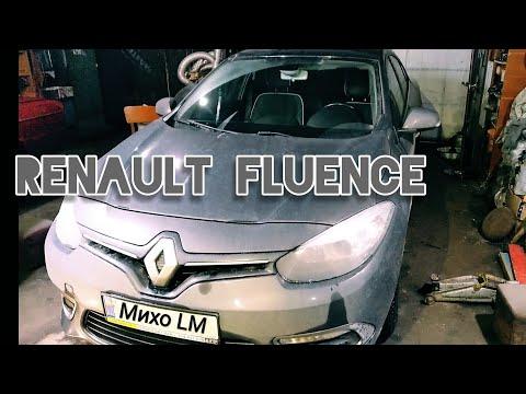 Renault fluence. Замена шарових опор.