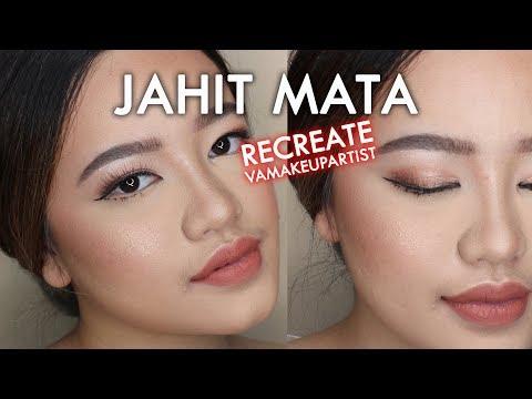Jahit Mata | Recreate MUA : VaMakeupArtist BRIDE Makeup Monolid