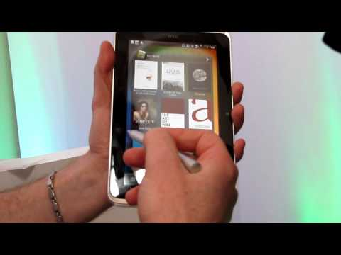 Tablet HTC Flyer with HTC Sense