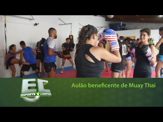 Aulão beneficente de Muay Thai