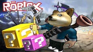 MASTER of ARMS-Roblox Lucky Block Battlegrounds