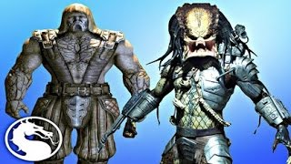 Mortal Kombat X - TREMOR VS PREDATOR - Fatalities/X-Rays Gameplay (MKX)