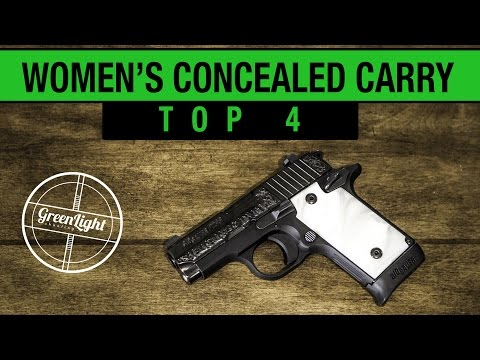 Top 4 Best Concealed Carry Guns for Women