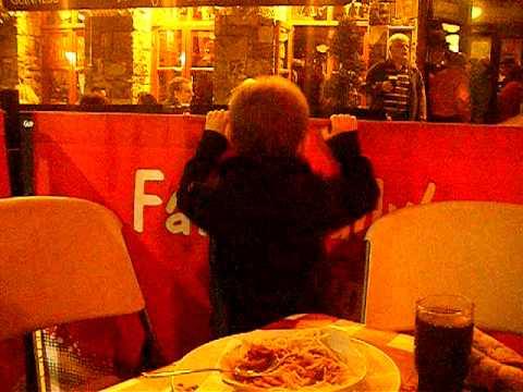 Adam in Galway...Riverdance eat ya heart out...