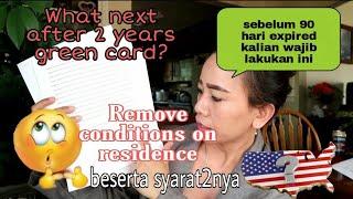 What next after 2 years green card?~ROC dan persyaratannya