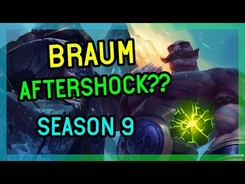 AFTERSHOCK BRAUM SEASON 9 - League of Legends thumbnail