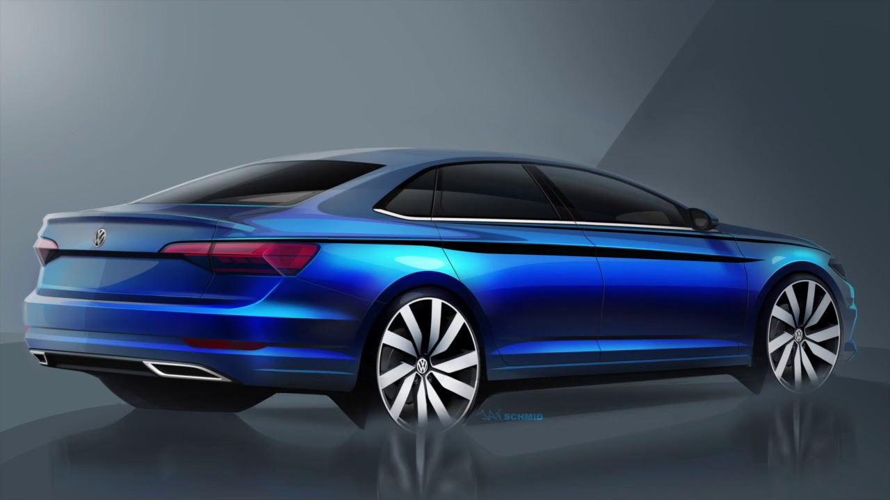 Volkswagen Canada The Completely Redesigned 2019 Jetta