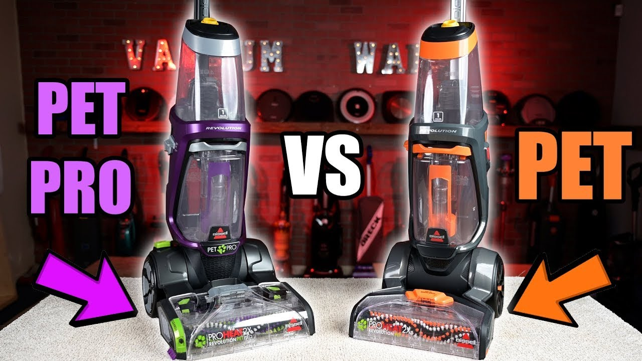 Bissell Proheat 2x Revolution PET VS PET PRO - Carpet Cleaner Comparison & Review