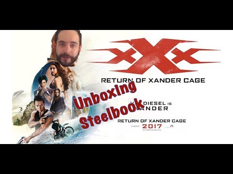 xXx Reactivated unboxing steelbook streaming vf