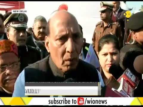 India News: Home Minister Rajnath Singh inaugurates 'Run For Ladli' half marathon