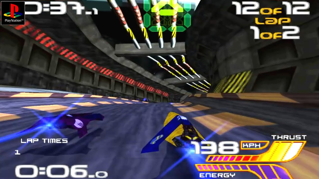Wipeout XL PS1 ROM #32