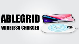 ABLEGRID Wireless Charger UNBOXING