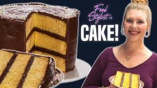 How to Style a Birthday Cake | How a Food Stylist Decorates the Perfect Layer Cake | Well Done