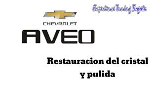 Chevrolet aveo restauracion rayas profundas en faro servicio pulido смотреть