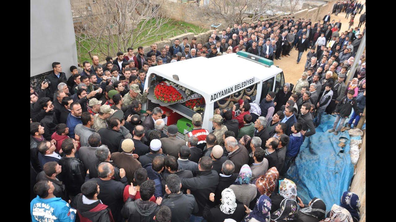 Şehit Uzman Çavuş Dost Besni'de Toprağa Verildi