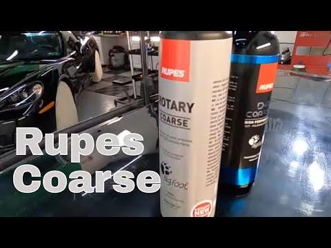 Rupes Rotary Coarse & Rupes DA Coarse High Performance Cut/Polish Compounds!!