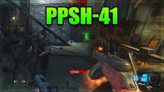 Call of Duty Zombies - PPSH-41 Comparison - World at War vs Black Ops 3! (COD Zombies)