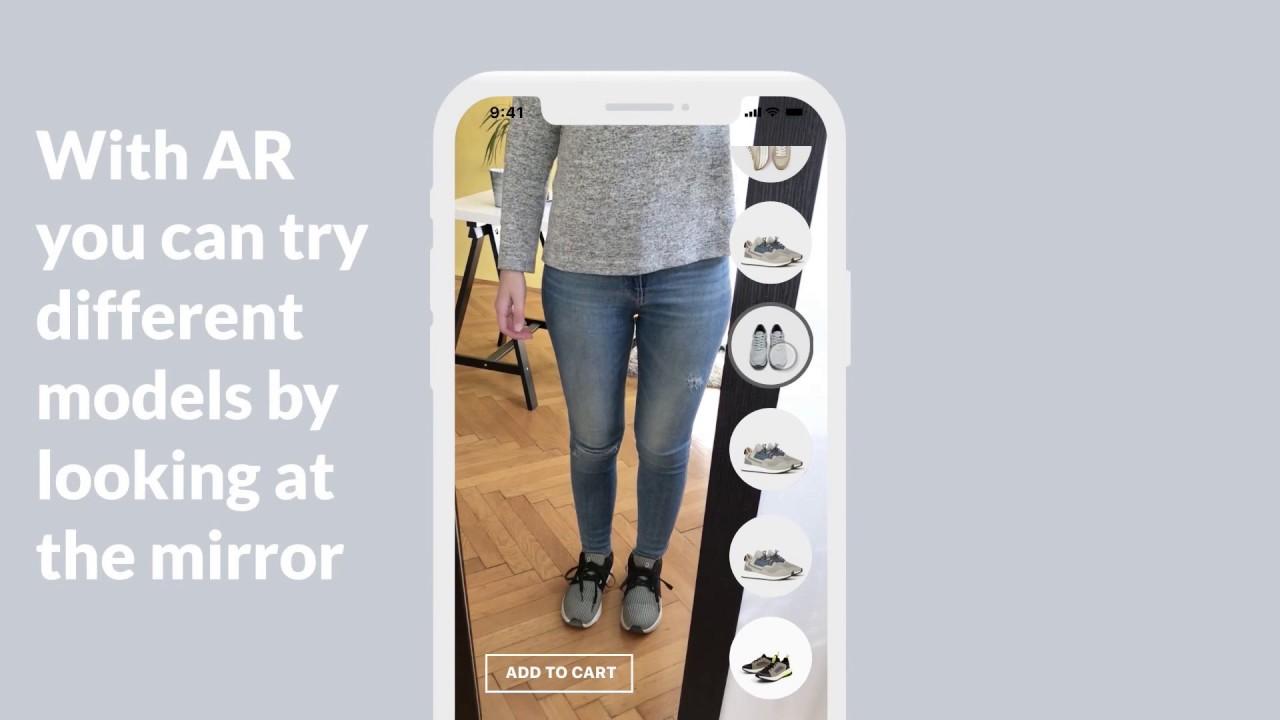 Zara e commerce mobile app concept youtube for E commerce mobili