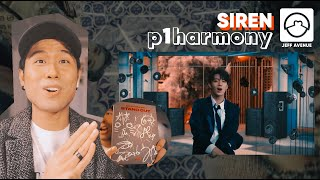 Performer Reacts to P1Harmony 'Siren' MV + Choreography Video + Signed Album Unboxing!
