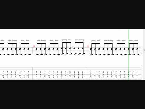 As I Lay Dying - The Sound Of Truth (Guitar tab video!)
