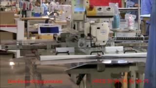 видео: Автоматизированная рабочая станция AMS221 для производства автомобильных подушек безопасности