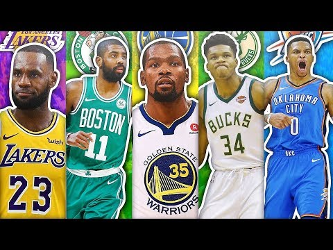 RANKING THE BEST PLAYER FROM EACH NBA TEAM