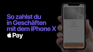 Apple Pay – So bezahlst du mit Face ID auf dem iPhone XS, iPhone XR und iPhone X – Apple