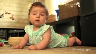 Krabbeln lernen (5-8 Monate) - babystep.tv