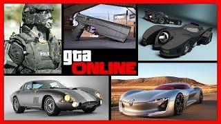 GTA 5 Online: КОНТЕНТ ДЛЯ БУДУЩИХ ОБНОВЛЕНИЙ   НОВЫЕ АВТО, ОРУЖИЯ И ОДЕЖДА   NEW DLC 2017