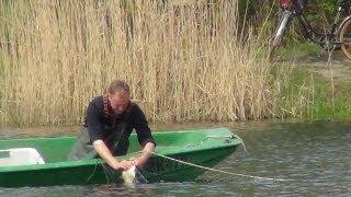 ловля рыбы на электроудочку видео