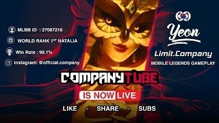 Mobile Legends Limit.Company Live Streaming 7/16