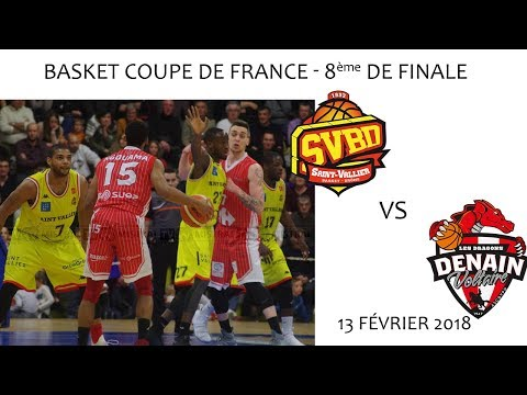 2018 02 13 Rencontres Sportives   Basket Coupe de France 8ème de final   SVBD vs ASC DENAIN