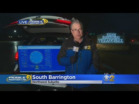CBS 2 Mobile Weather Lab: South Barrington