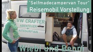 SELFMADECAMPERVAN TOUR | VW CRAFTER - CAMPER + KITESURFVAN