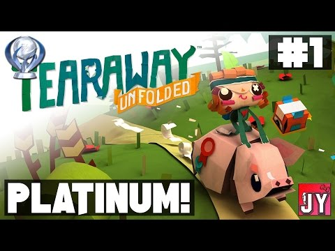 [100%] Chapter 1 - The Standing Stones! ~ Road to Platinum! [PS4] Tearaway Unfolded