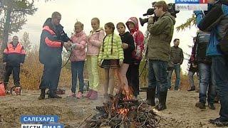 Спасатели показали детям пожарное оборудование для тушения лесных пожаров(, 2014-09-12T14:17:41.000Z)