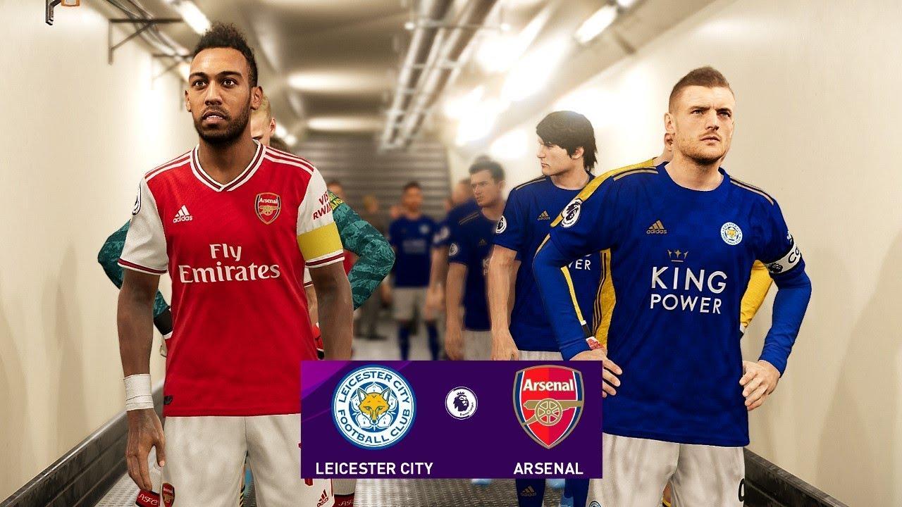 PES 2020 | Leicester City vs Arsenal – Premier League 2019