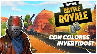 Jugando FORTNITE con l๐s COLORES INVERTIDOS!!! | ShOWTime