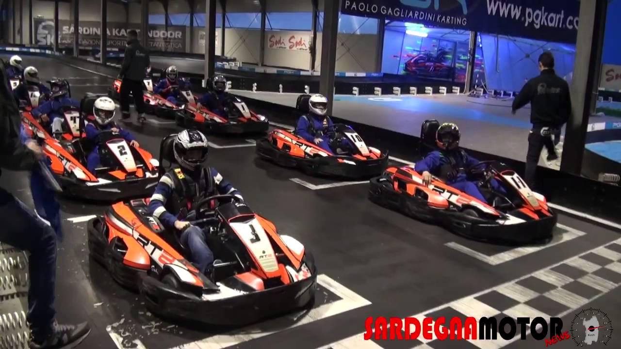 Kart Indoor 1 Gp Delle Concessionarie Auto Cagliari