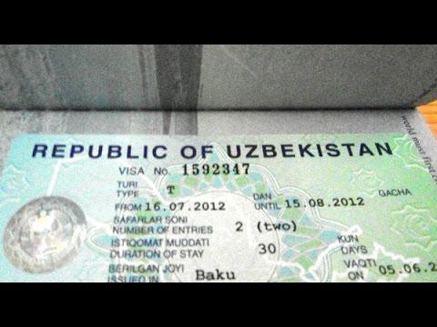 Виза в Узбекистан для граждан Россию. Виза в Узбекистан