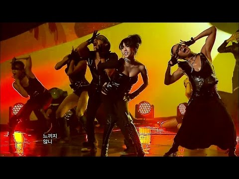 【TVPP】Lee Jung Hyun (AVA) - Crazy, 이정현 - 크레이지 @ Comeback Stage, Show Music Core Live