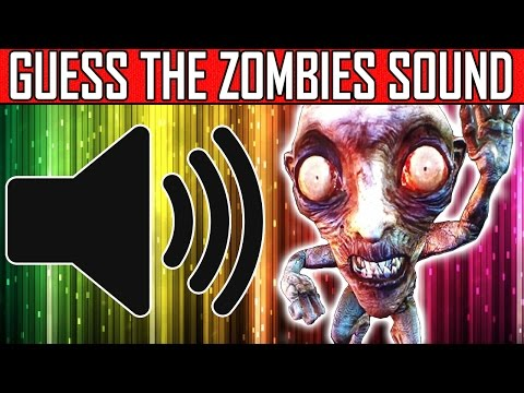 CAN YOU GUESS THE ZOMBIES SOUND?? Zombies Sound Quiz #1 | w/ MrDalekJD