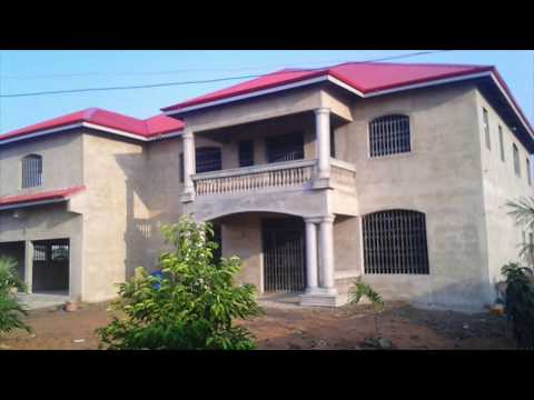 Building in Ghana Part 11 || Exterior Plastering ||