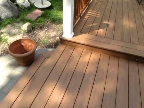 Picture Frame Deck Border Design By Bergen Decks Youtube