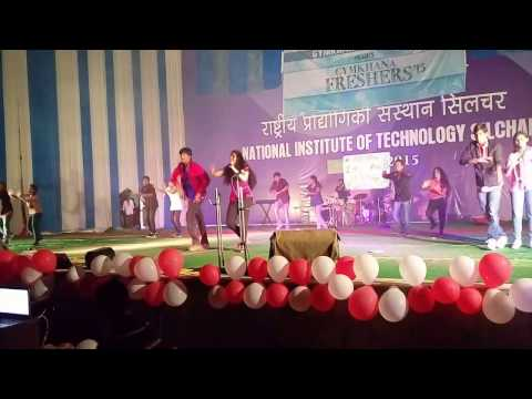 NIT Silchar South Indian Dance @ General freshers 2k15