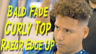 CURLY Top ✂️SCISSOR WORK | Hair Tutorial | Corte de pelo | Richie The Barber